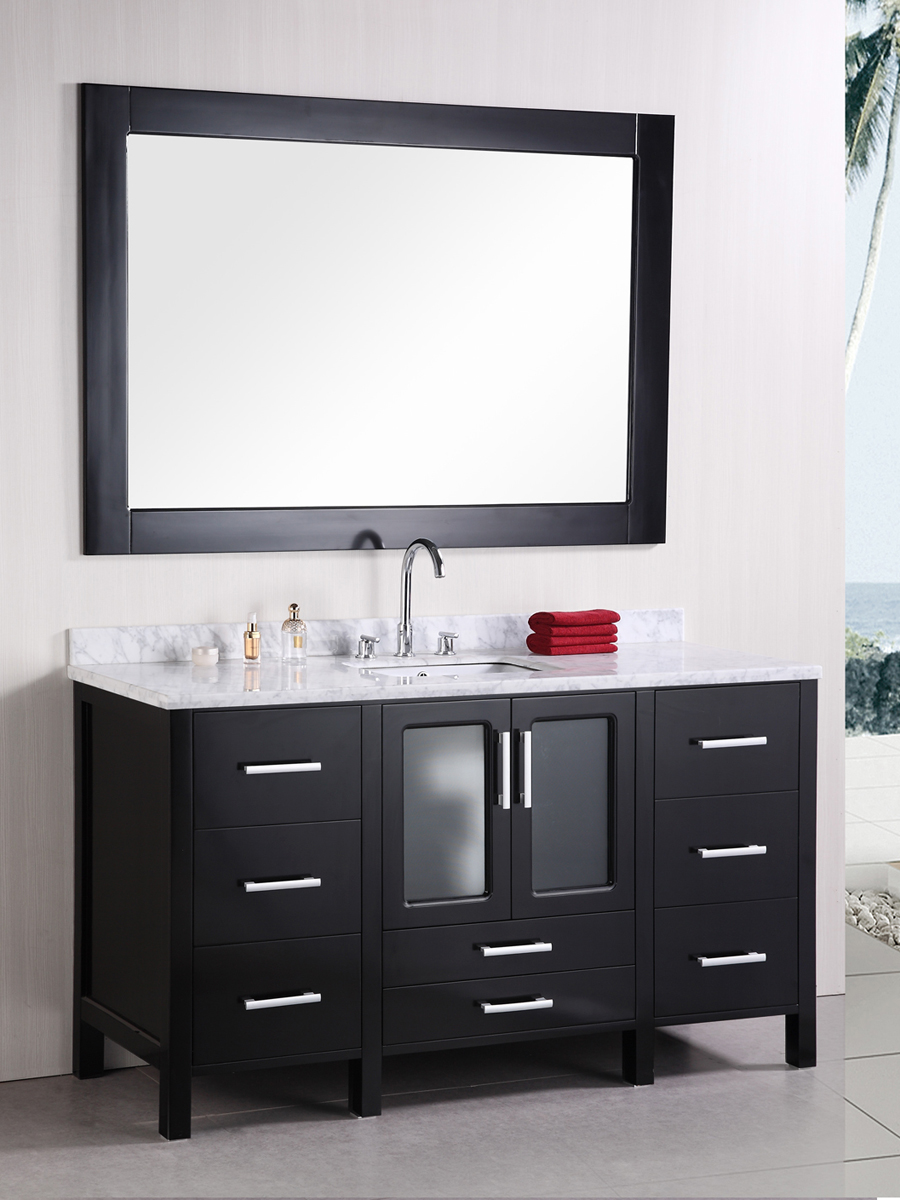 Features a double-door cabinet and 7 drawers