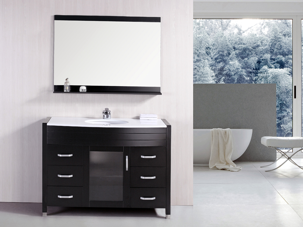 "47"" Waterfall Single Vanity"