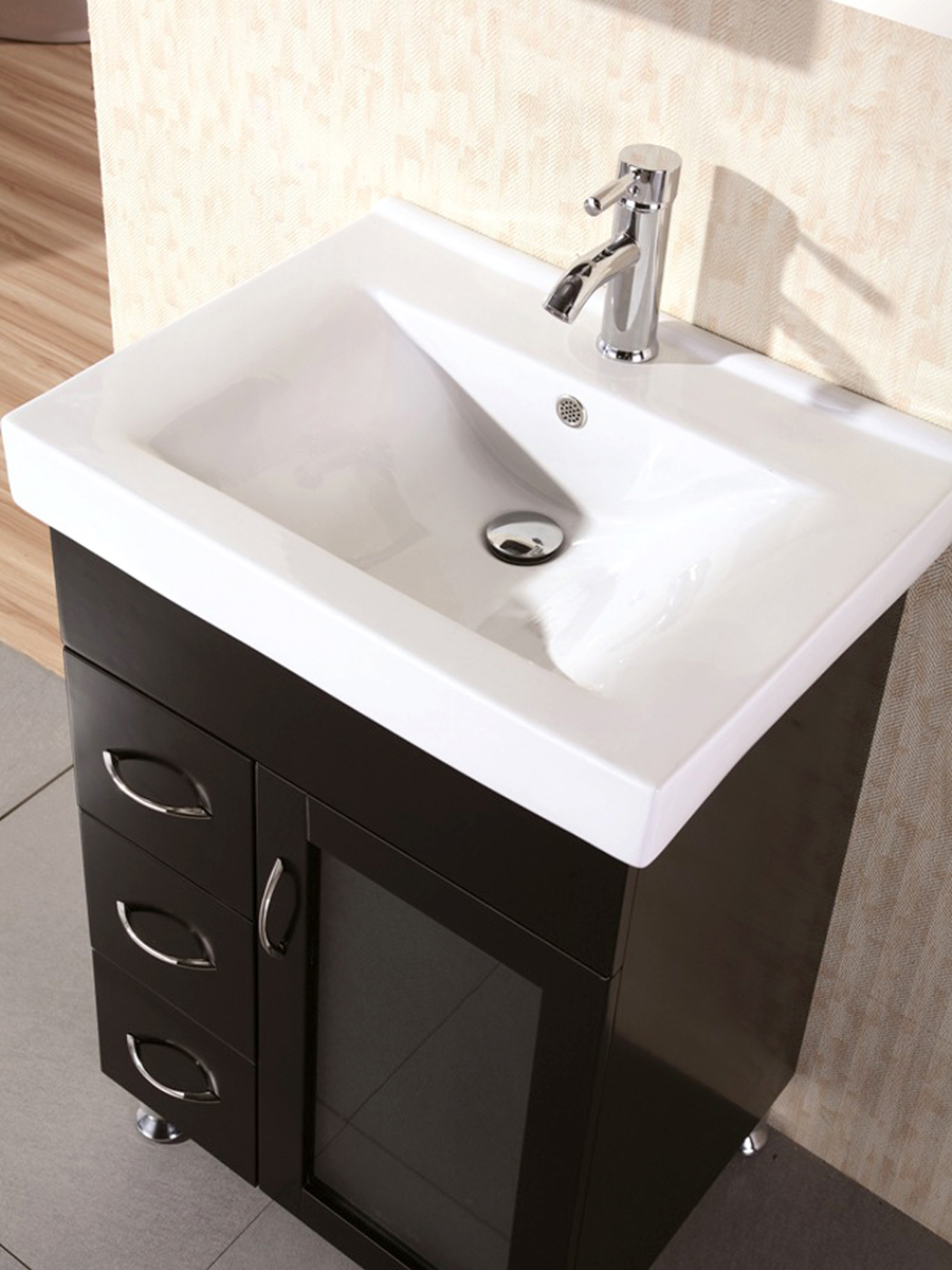 24 Quot Milan Single Bath Vanity Bathgems Com