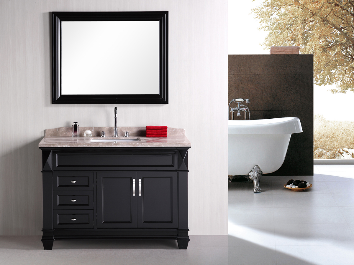 "48"" Hudson Single Vanity with included mirror"