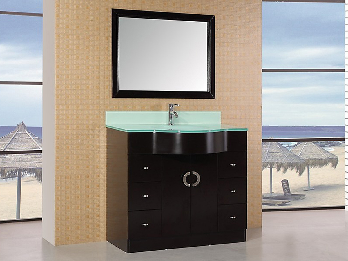 "40"" Aria Single Vanity - with mirror"