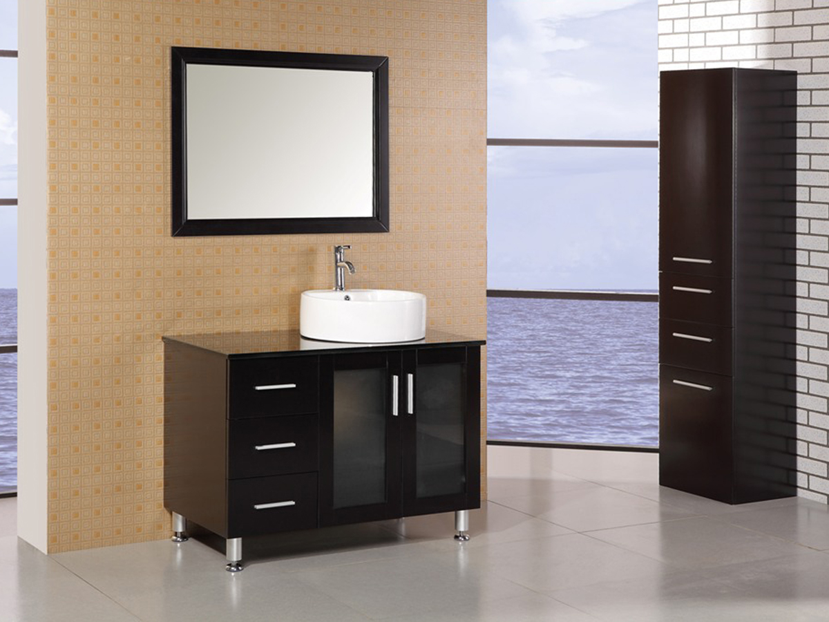 "39"" Malibu Single Vanity with included mirror"