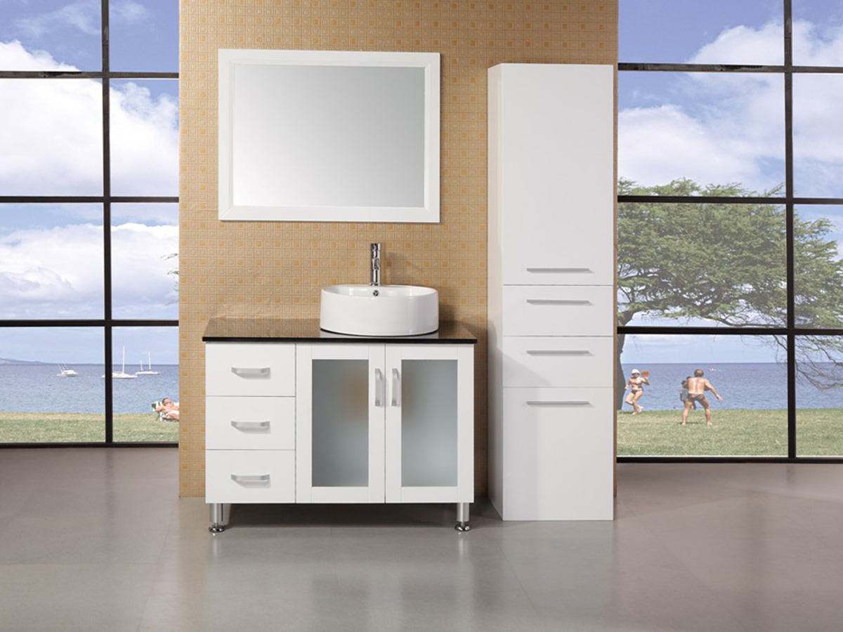 "39"" Malibu Single Vanity - with included mirror"