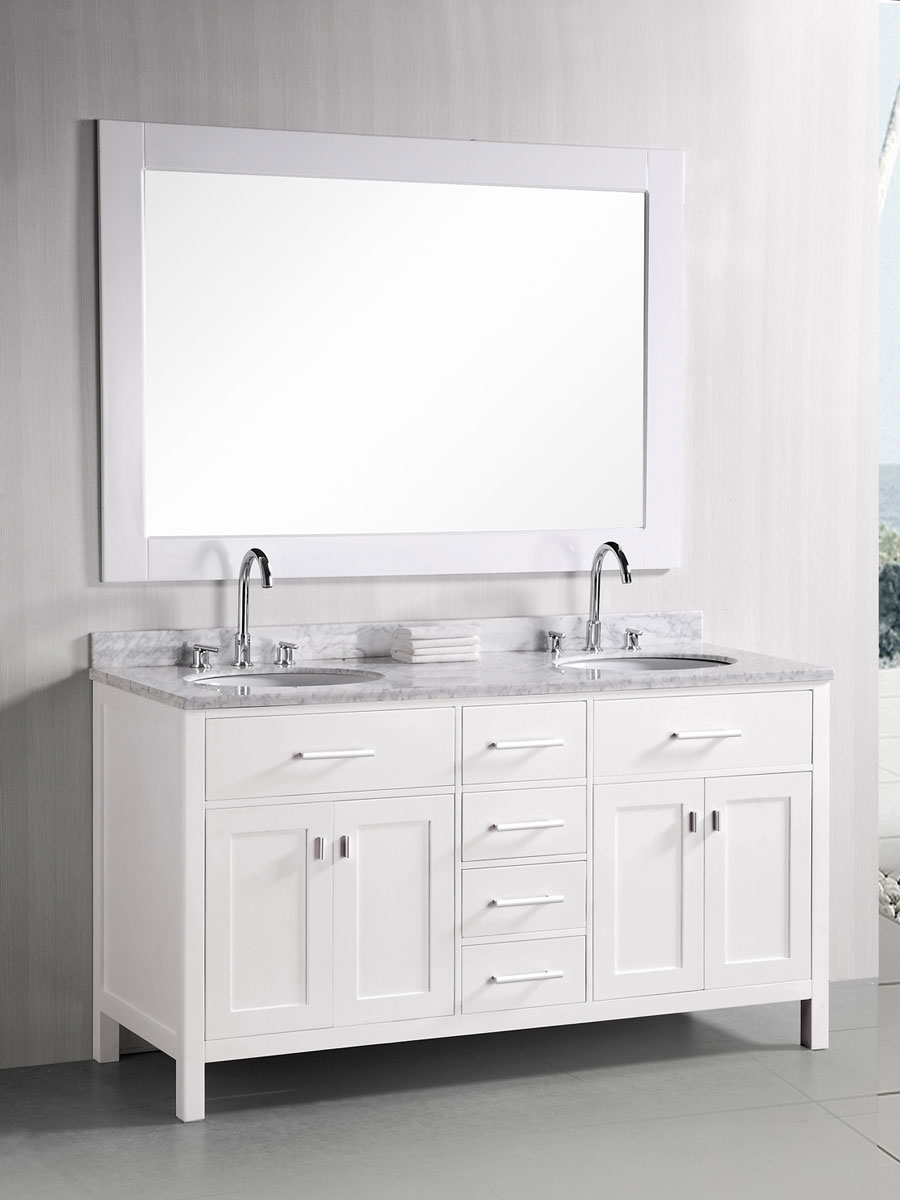 "61"" London Bathroom Vanity"