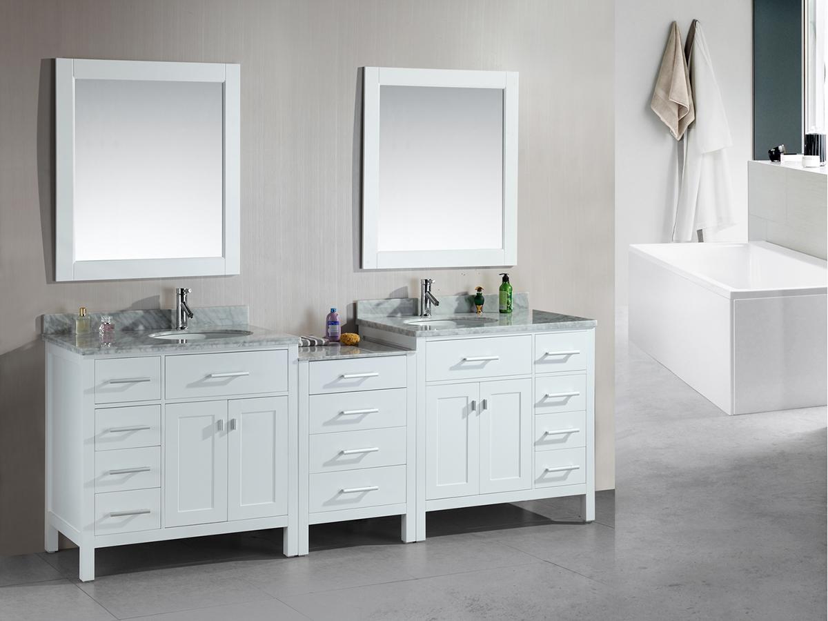 "92"" London Double Sink Vanity"