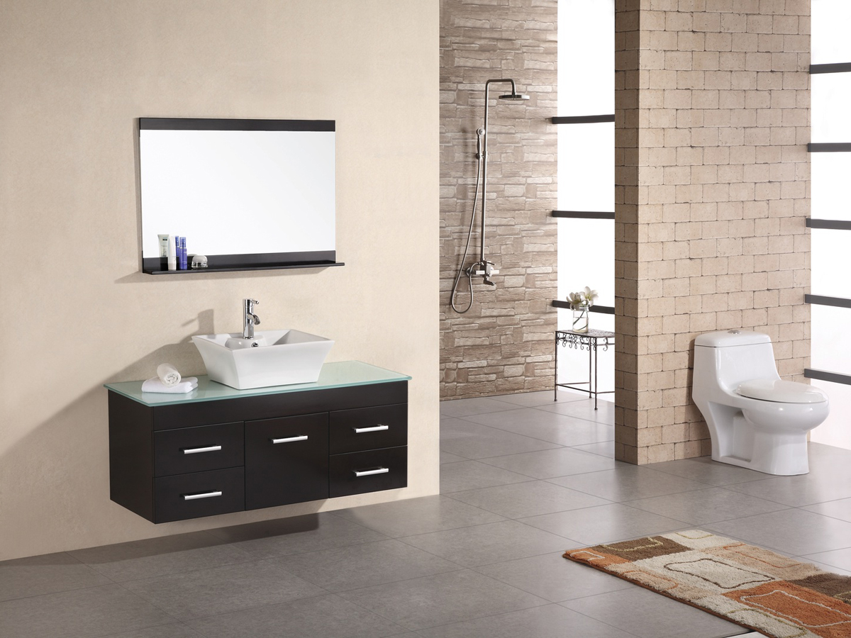 "48"" Madrid Single Vanity with included mirror"