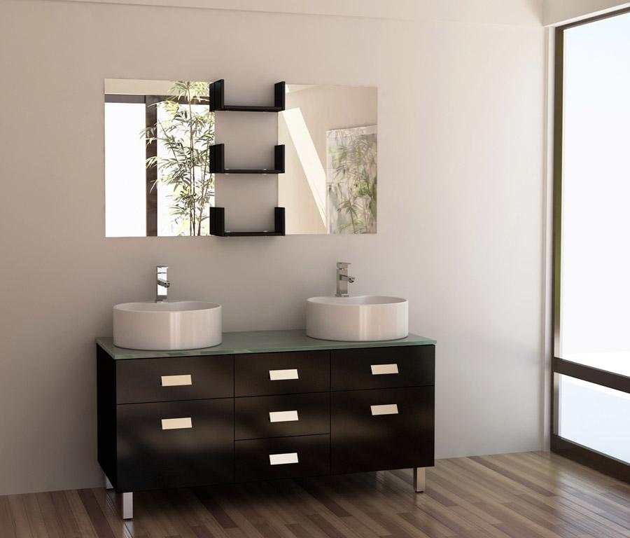 Modern Vessel Sink Vanity