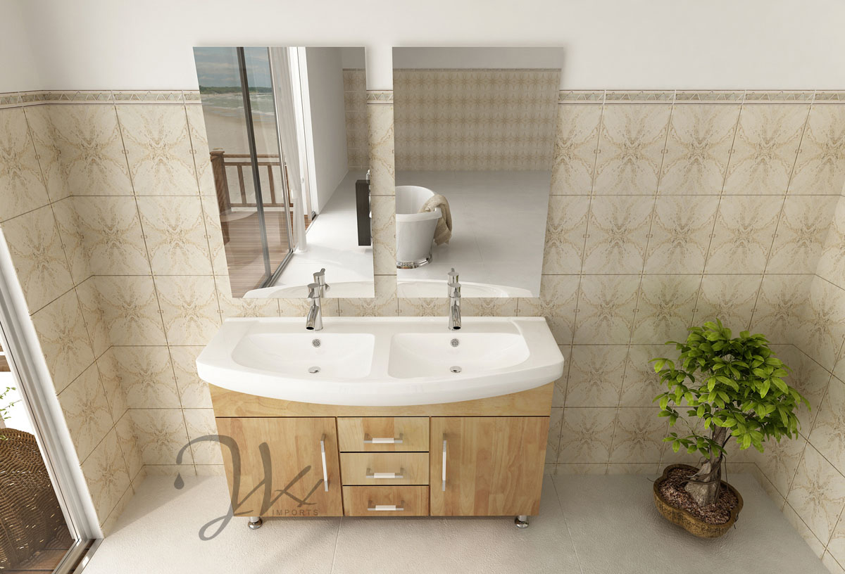 Celine Double Sink Vanity Naked Bathgemscom - Bathroom remodel double sink vanity