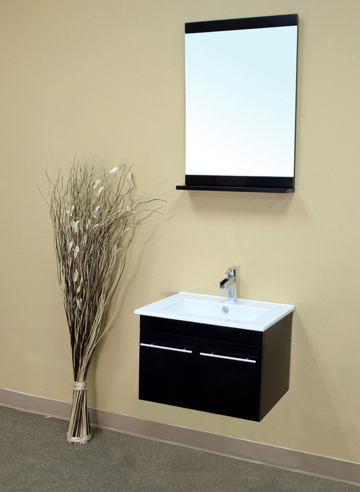 "24.4"" Larissa Wall Mounted Vanity Show With Optional Mirror"