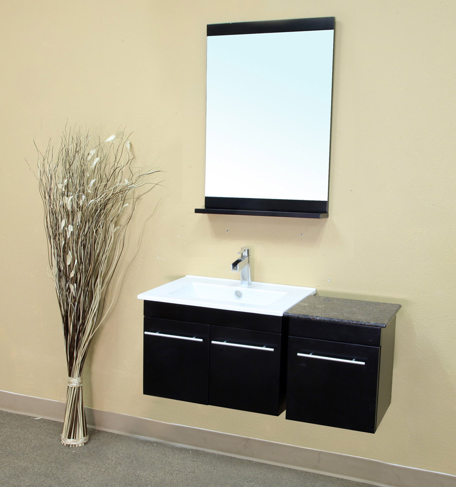 Vanity Shown With Optional Side Cabinet
