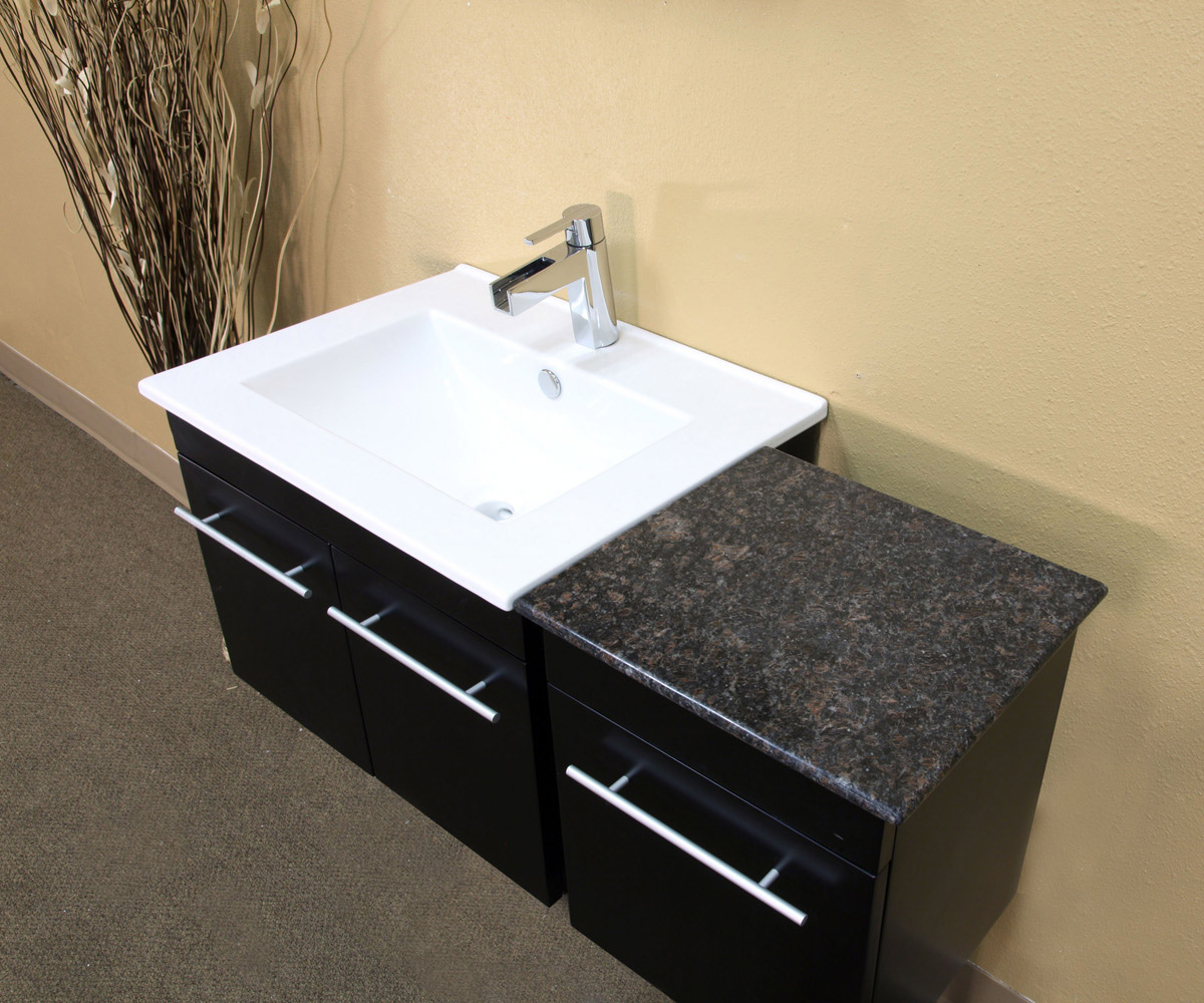 Ceramic Sink and Granite Counter Top(faucet not included)
