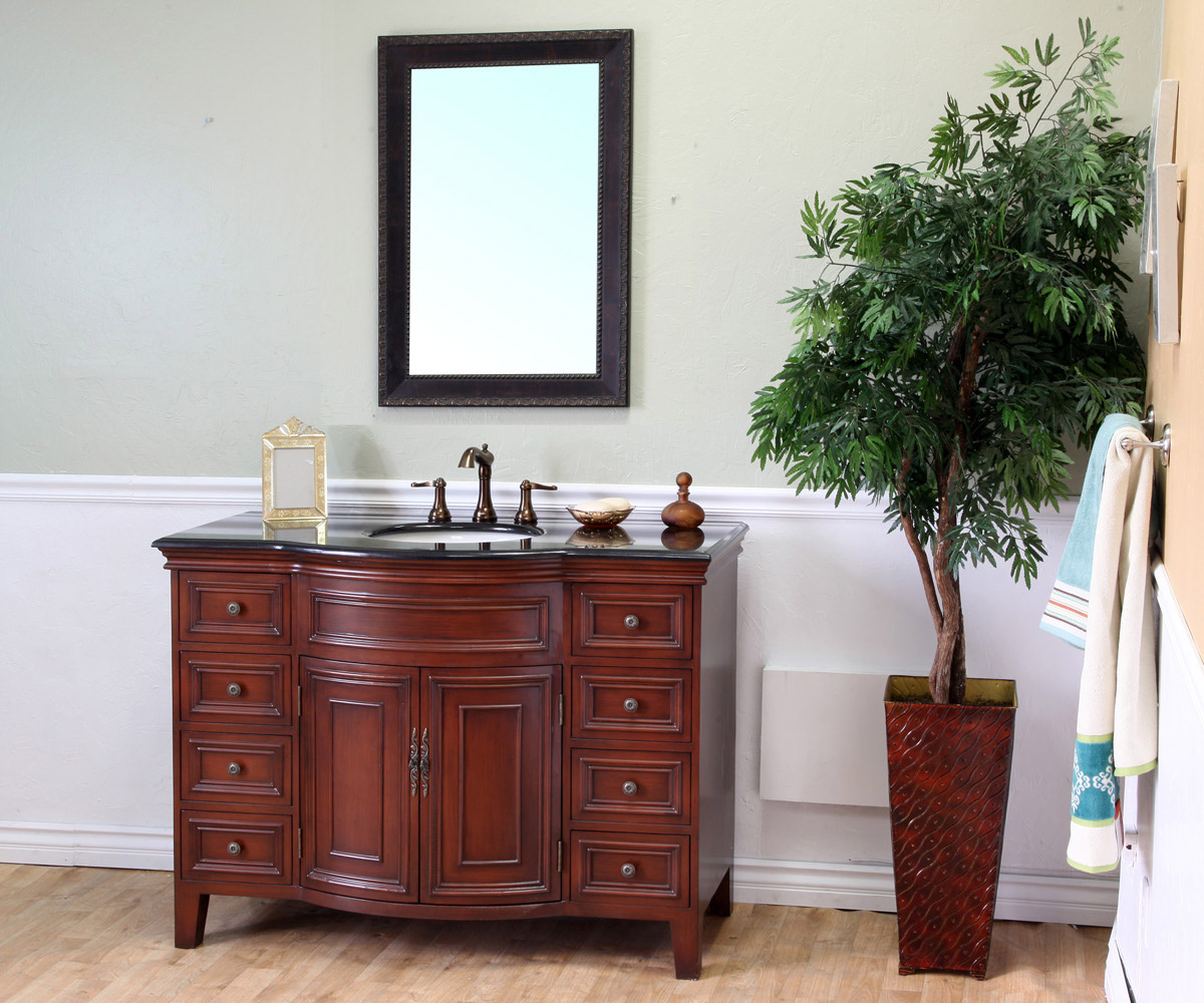 "48"" Monte Single Bath Vanity (mirror and faucets not included)"