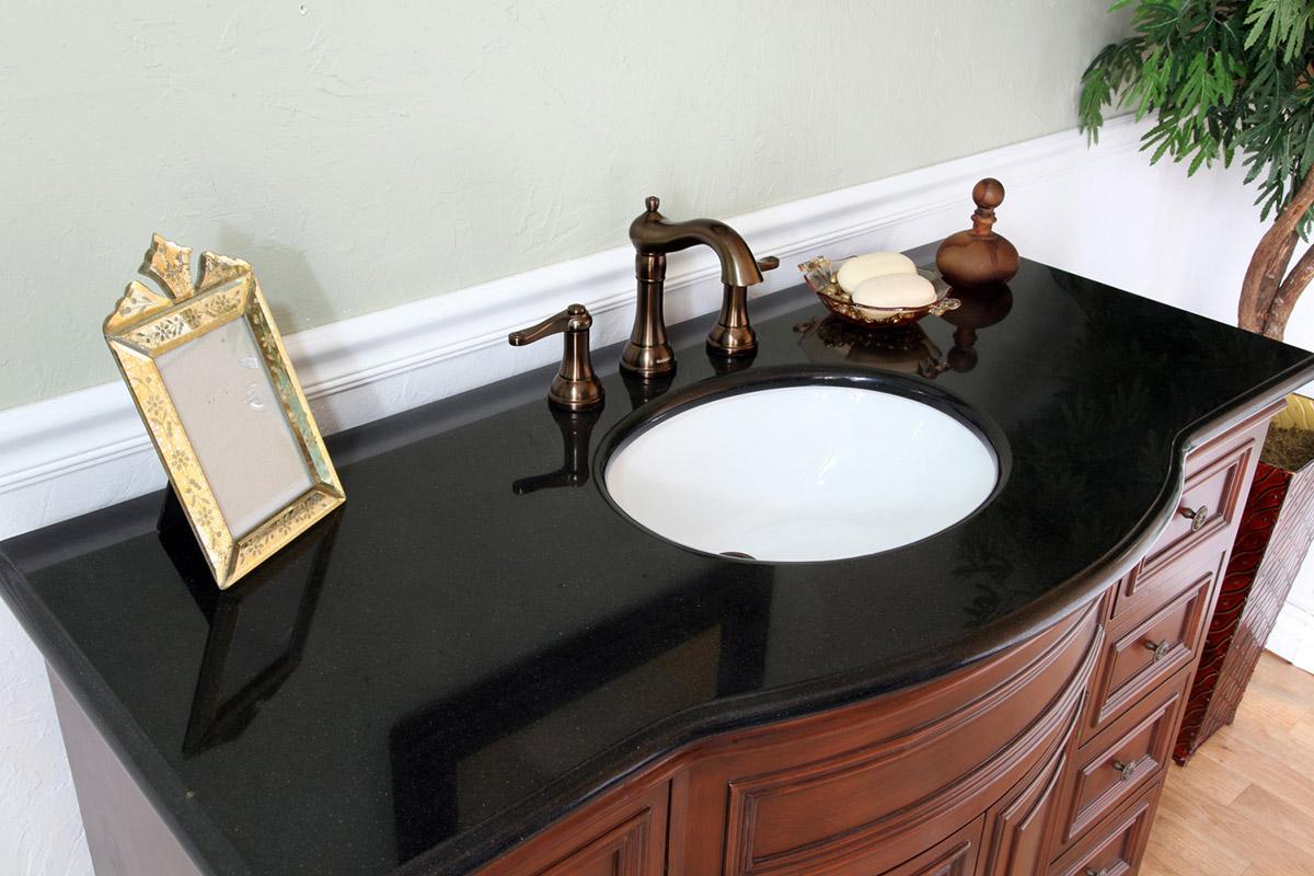 Black Galaxy Granite Counter Top