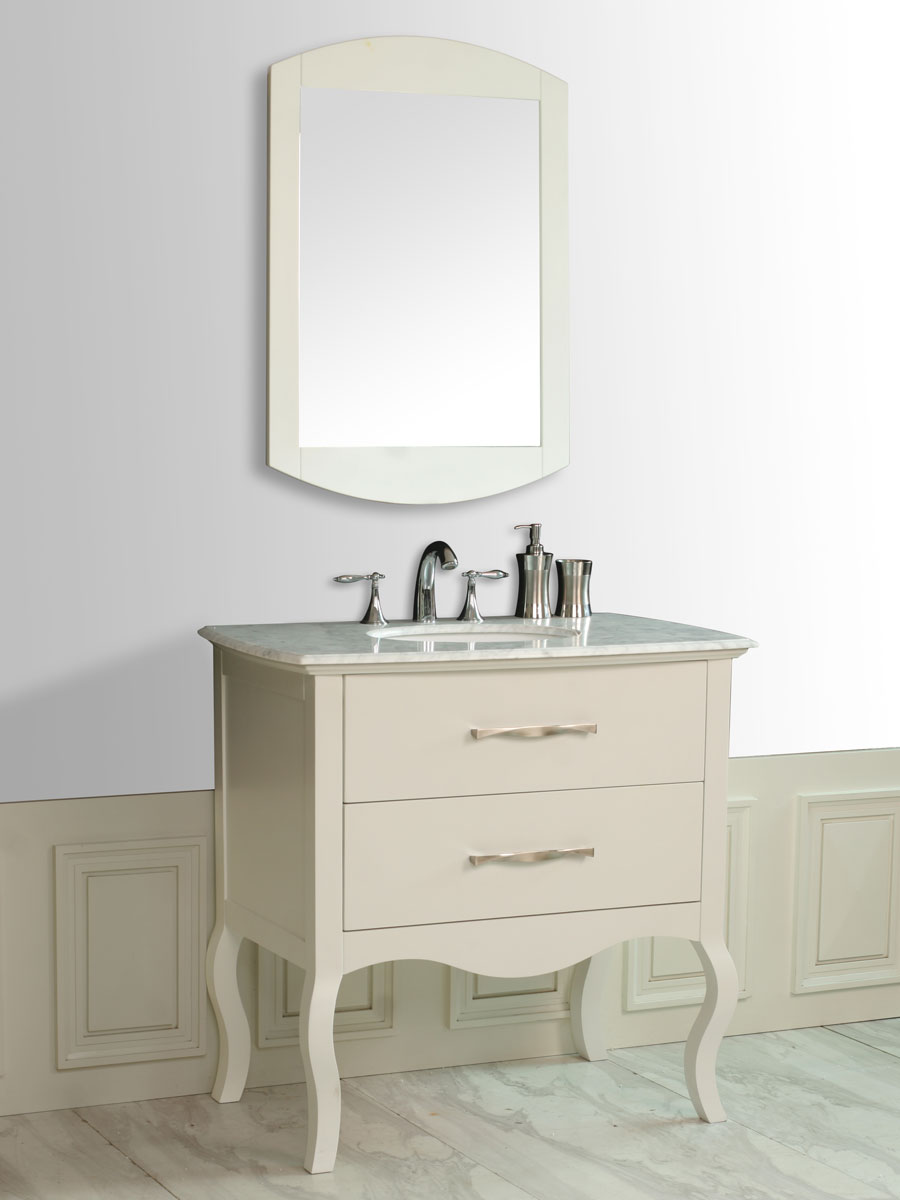 "37.25"" Cleveland Single Bath Vanity - Bathgems.com"