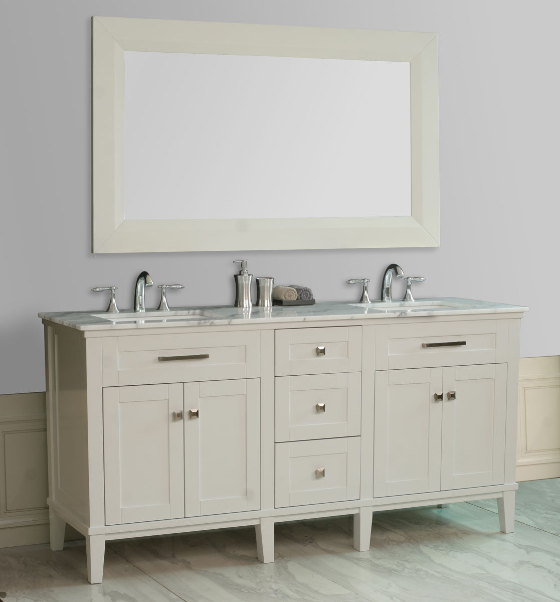 "72"" Christine Double Sink Vanity"