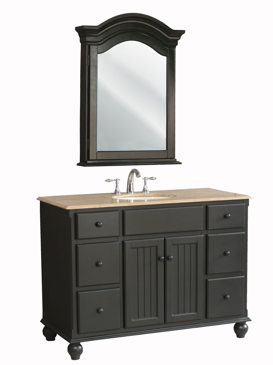 "48"" Alvina Single Bath Vanity - with included medicine cabinet"