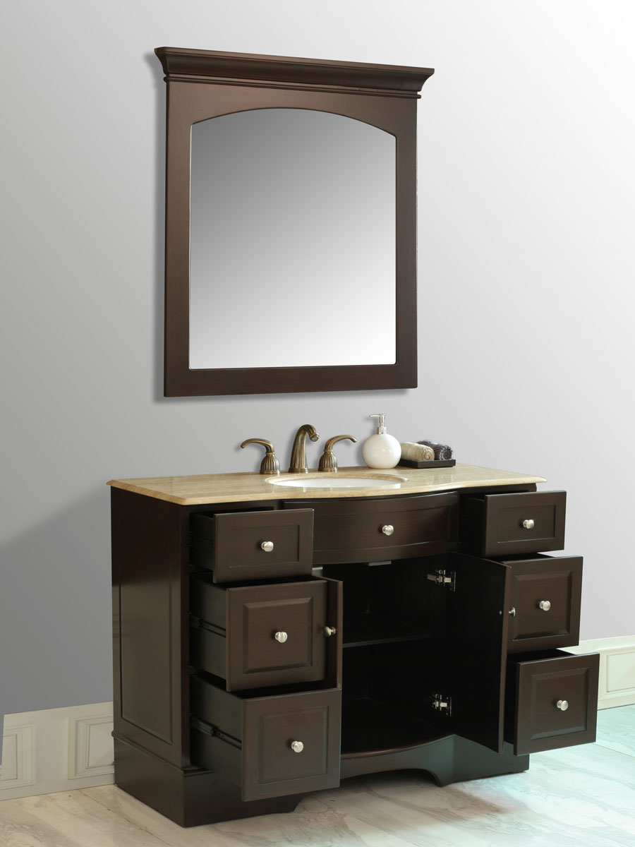 Double-Door Cabinet and Six Functional Drawers