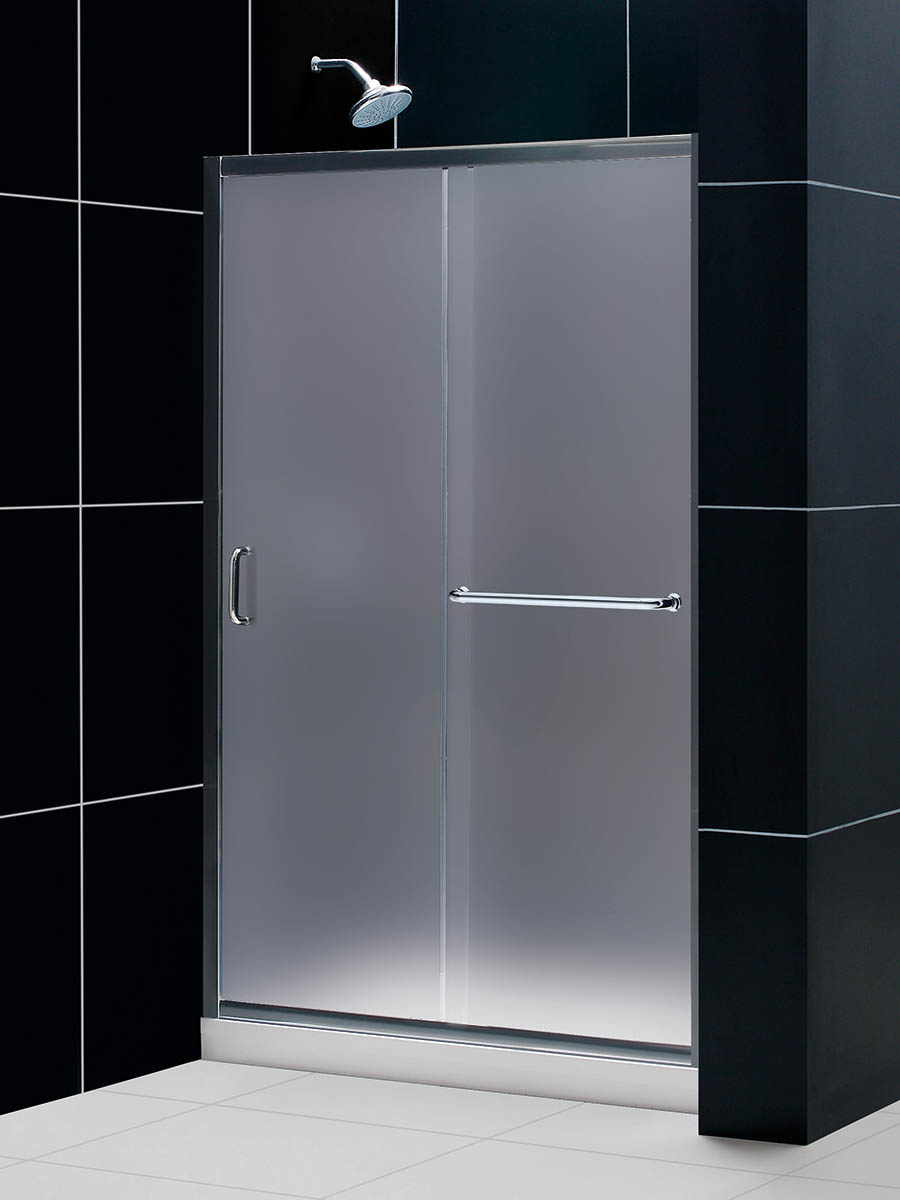 Frosted Shower Door Option