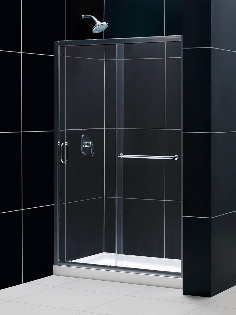 Clear Shower Door Option