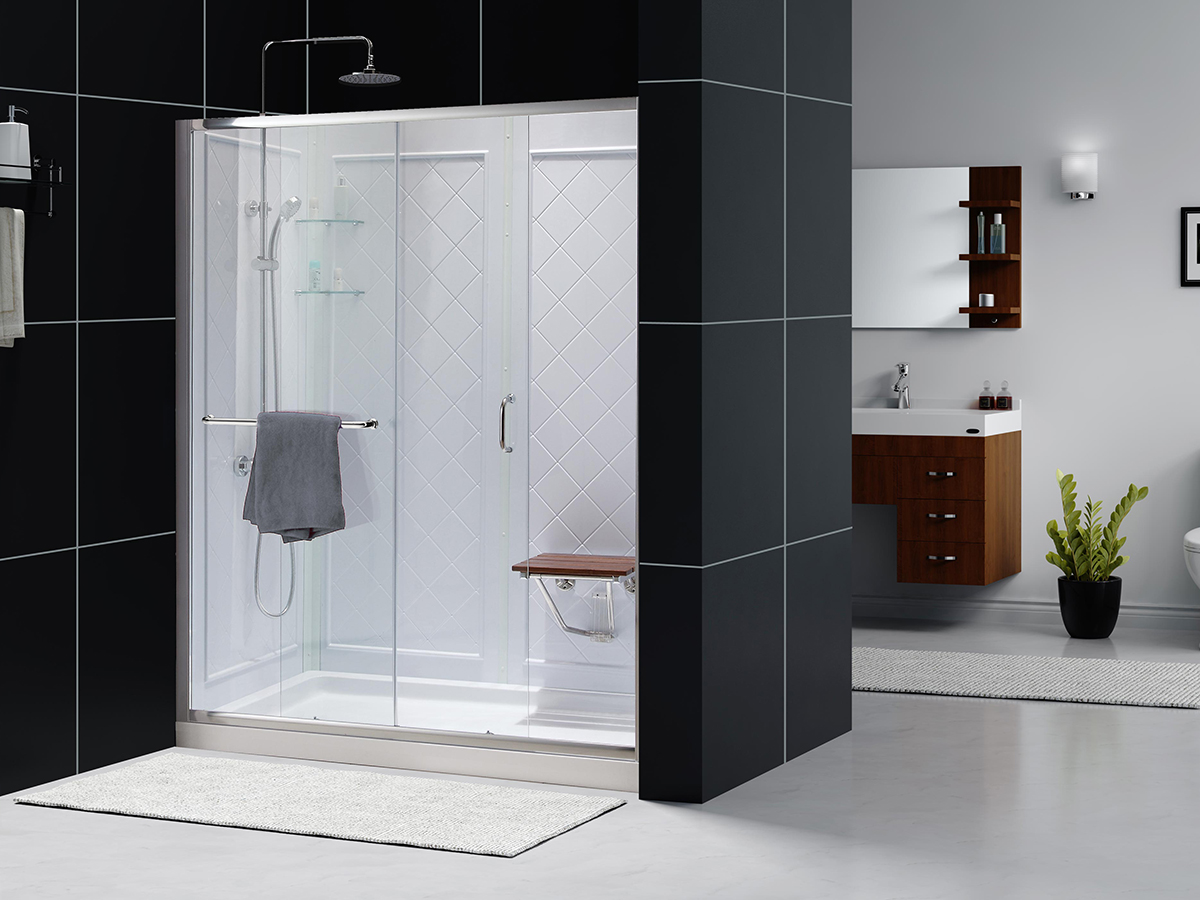 Dreamline Infinity Z Frameless Sliding Shower Door 36 Quot By