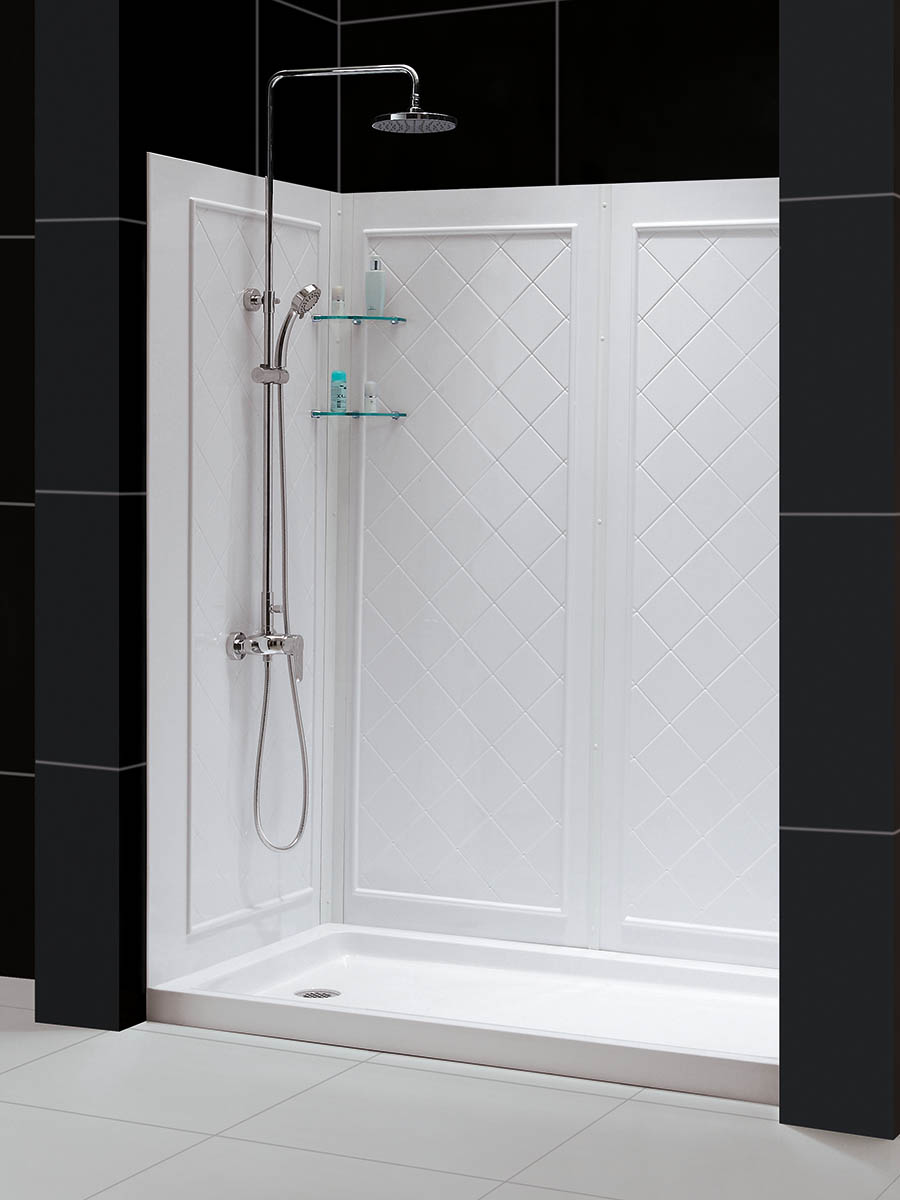 Shower Backwall Included
