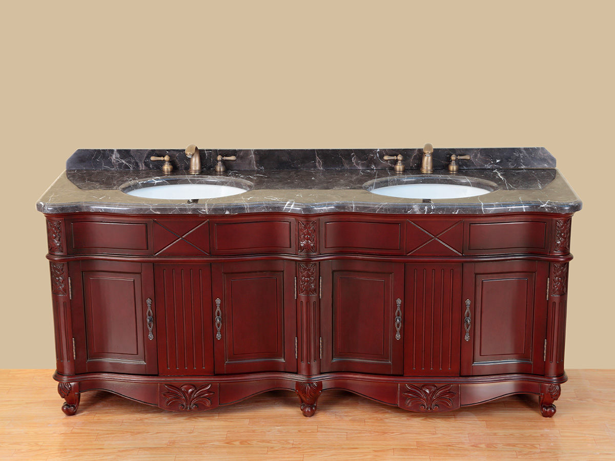 Antique Red Finish