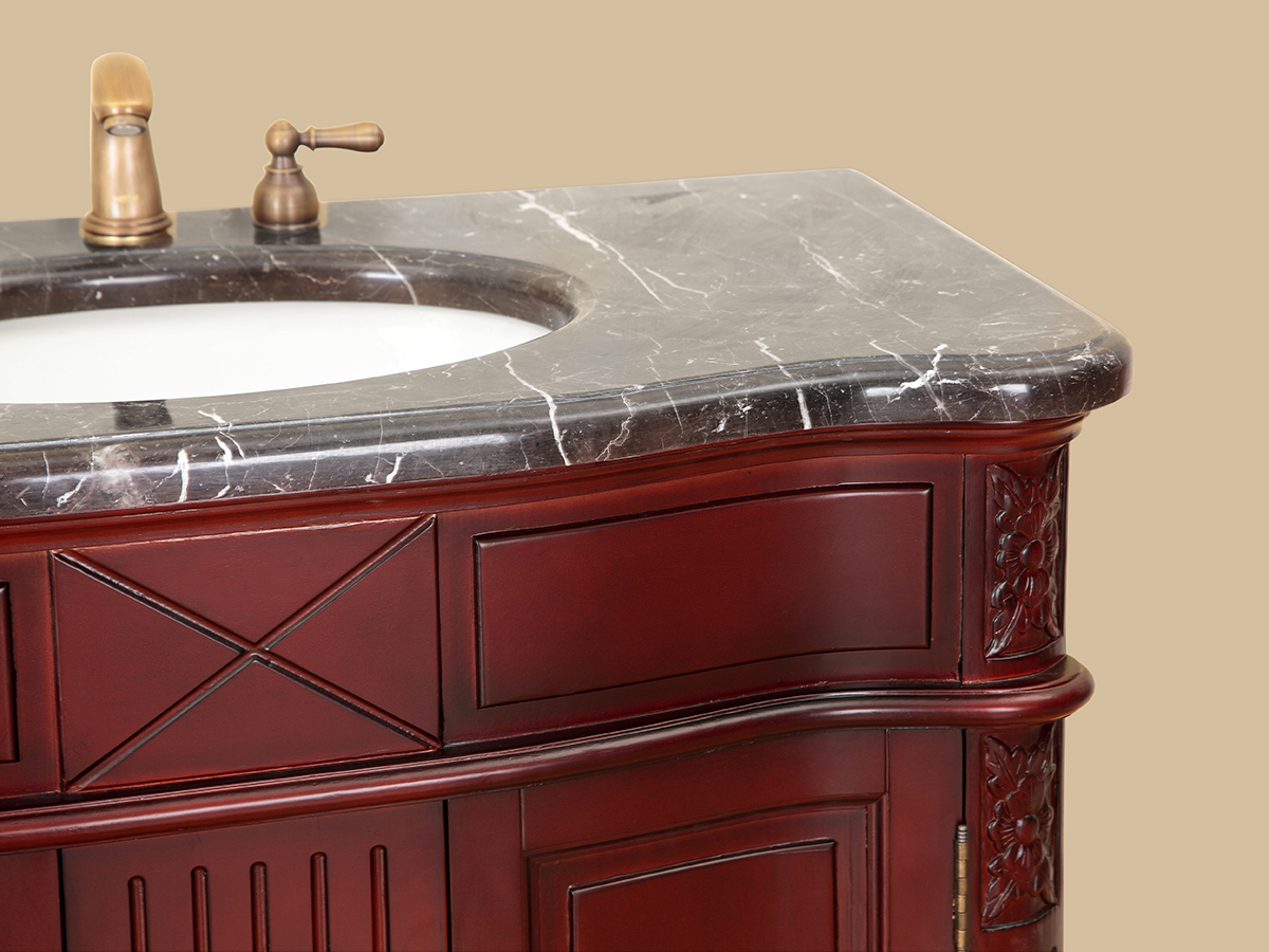 Dark Emperador Marble Top