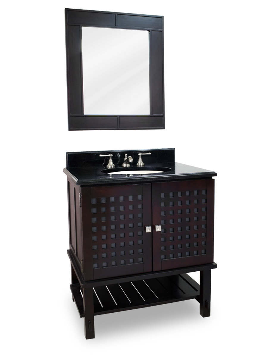 "31.5"" Jacksonville Single Vanity With Optional Mirror"