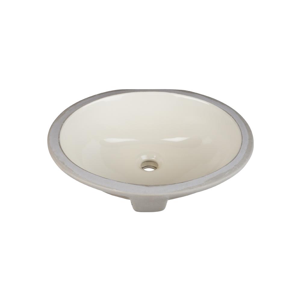 Parchment Porcelain Sink
