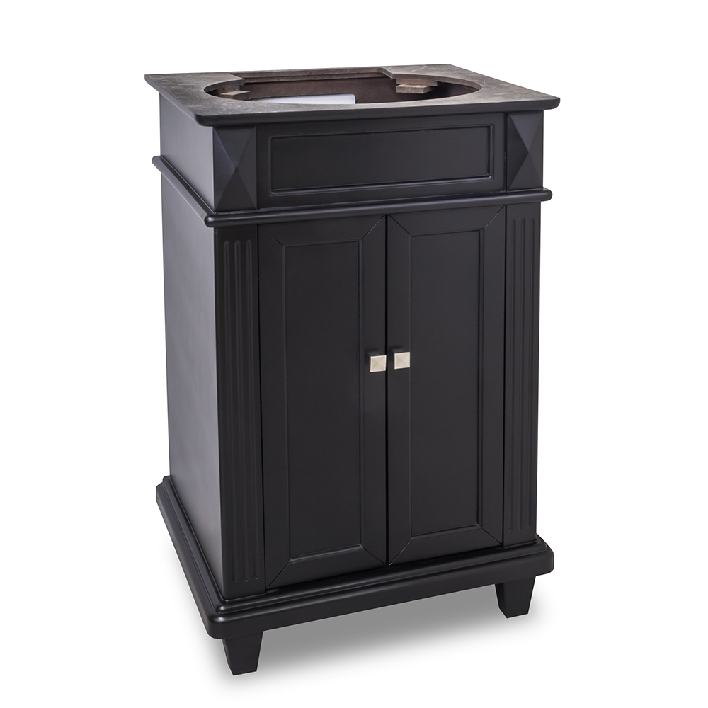 24 Quot Jupiter Single Bath Vanity Black Bathgems Com