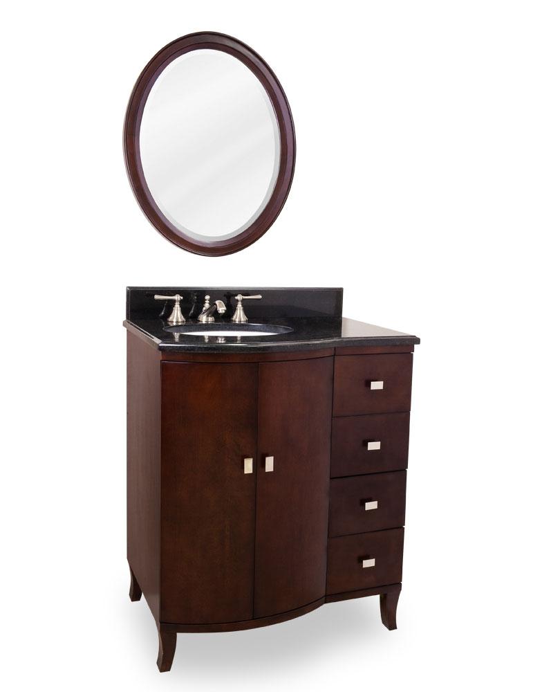 "30"" Valentia Single Bath Vanity With Optional Mirror"