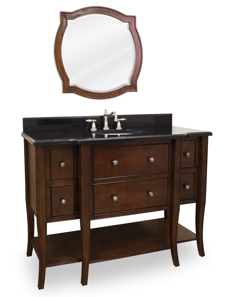 "48.5"" Laguna Single Bath Vanity With Mirror"