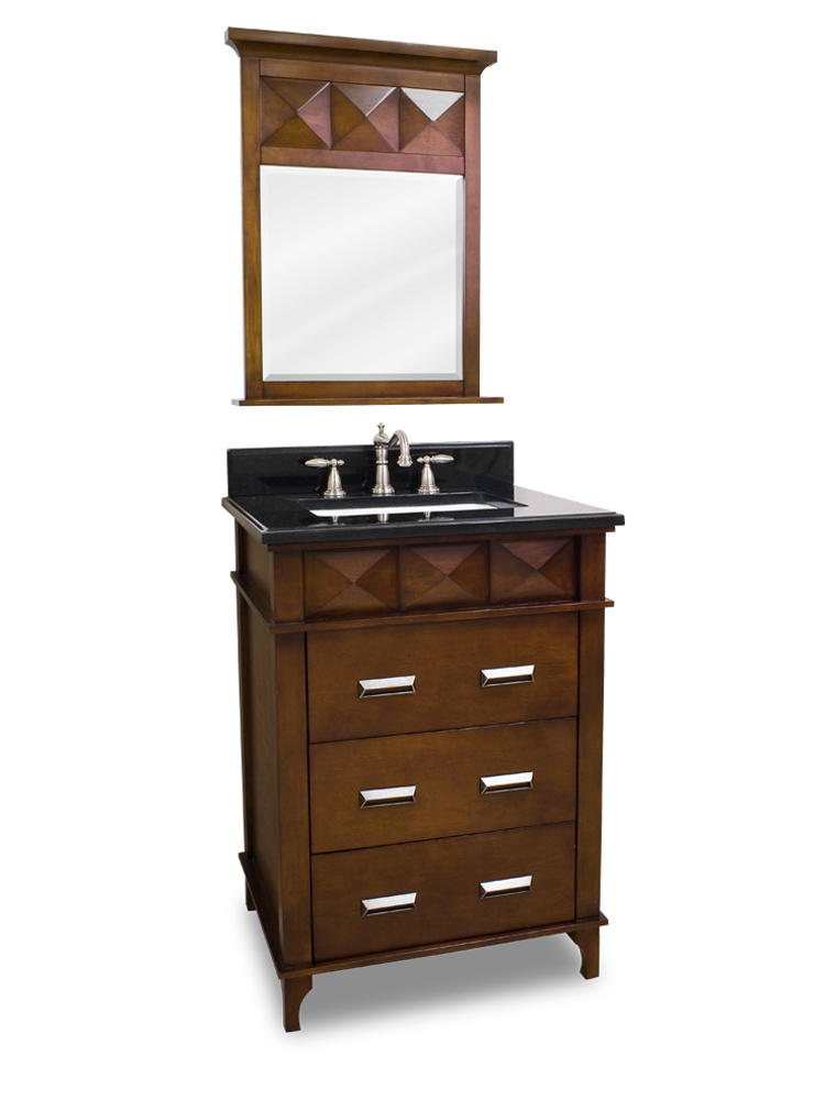 "26"" Lyndon Single Bath Vanity With Mirror"