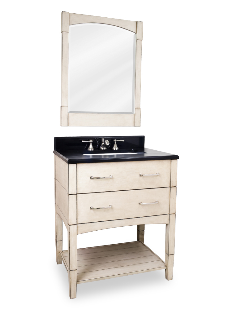 "30.5"" Myrtle Beach Single Bath Vanity With Mirror"