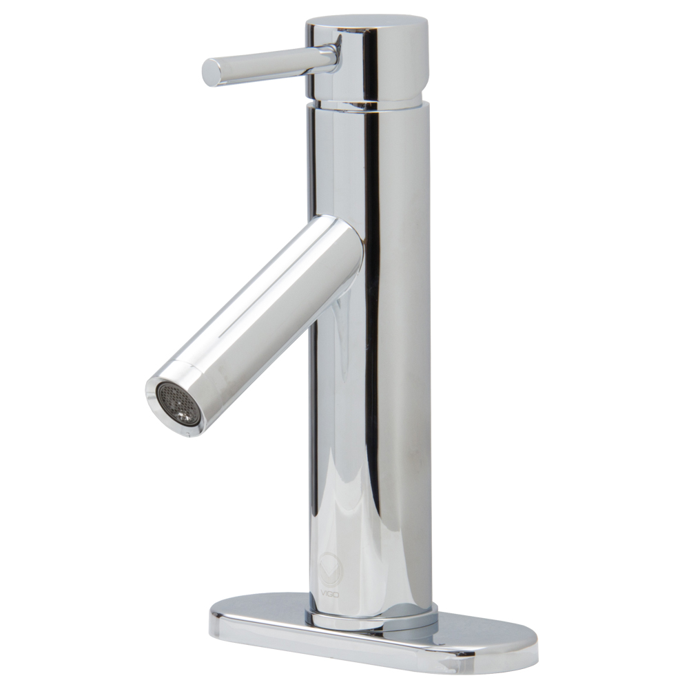 Single-Lever Chrome Faucet