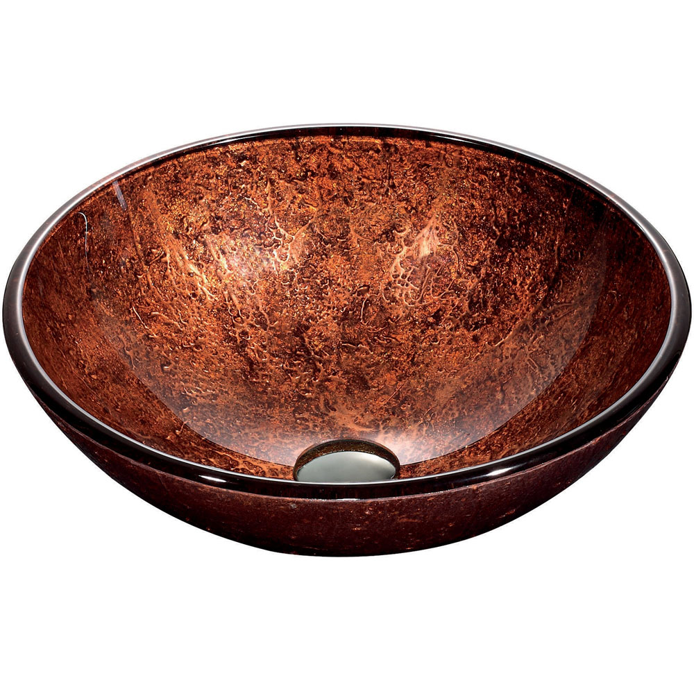 Mahogany Moon Vessel Sink
