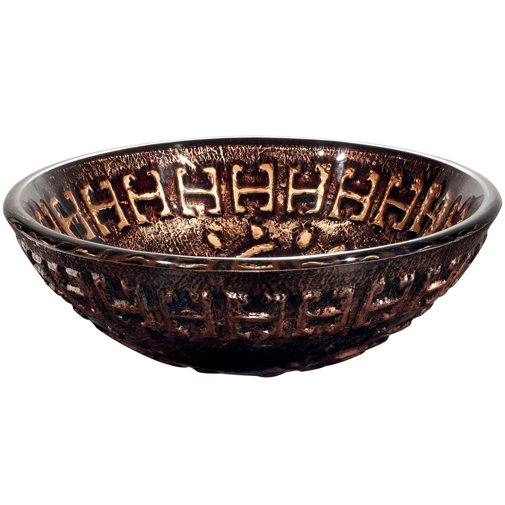 Side View of Aztec Vessel Sink