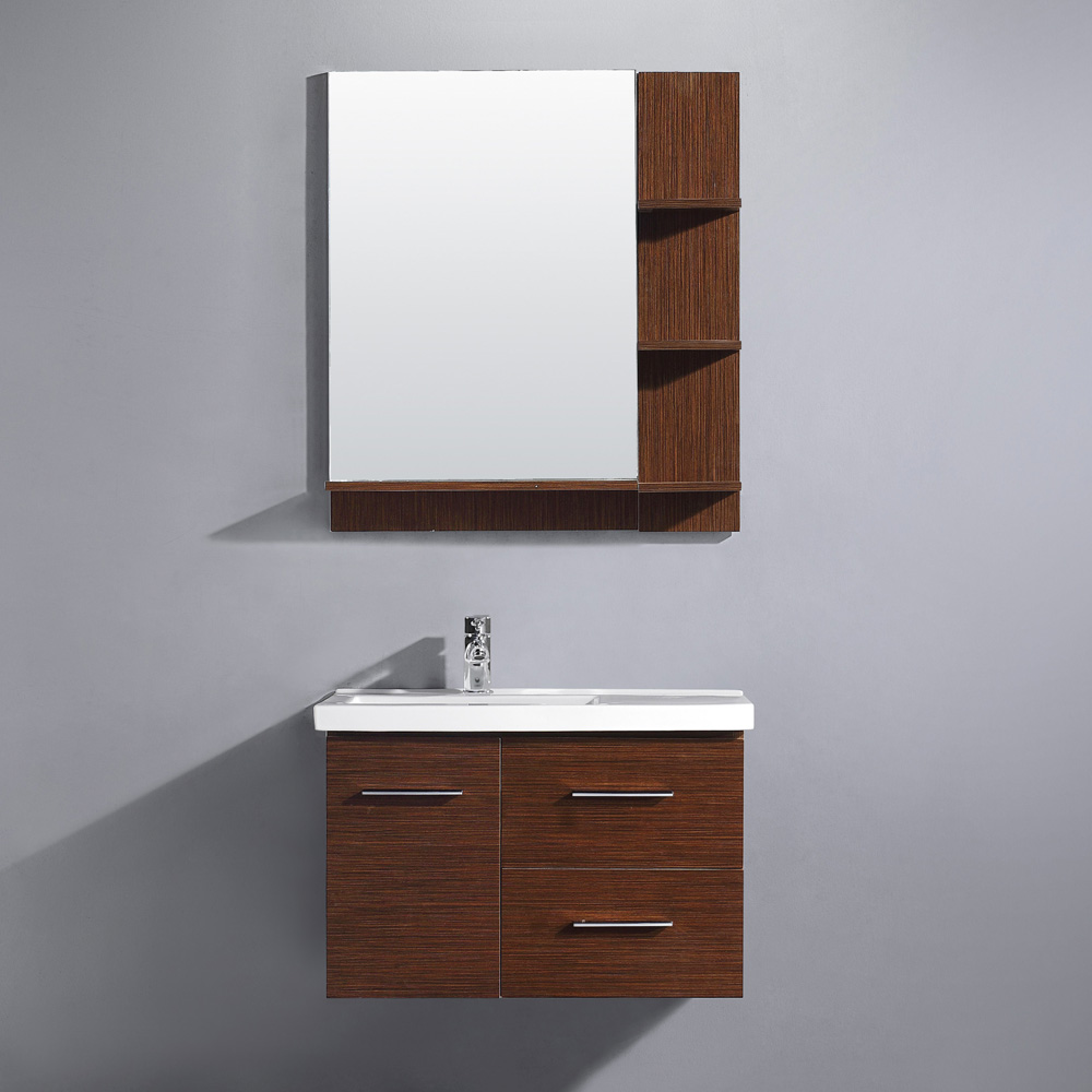 "31"" Moderna Vanity with matching mirror"