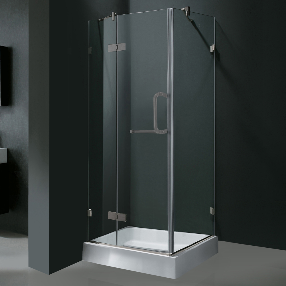 Shown With Clear Glass and Brushed Nickel Finish and Optional Base