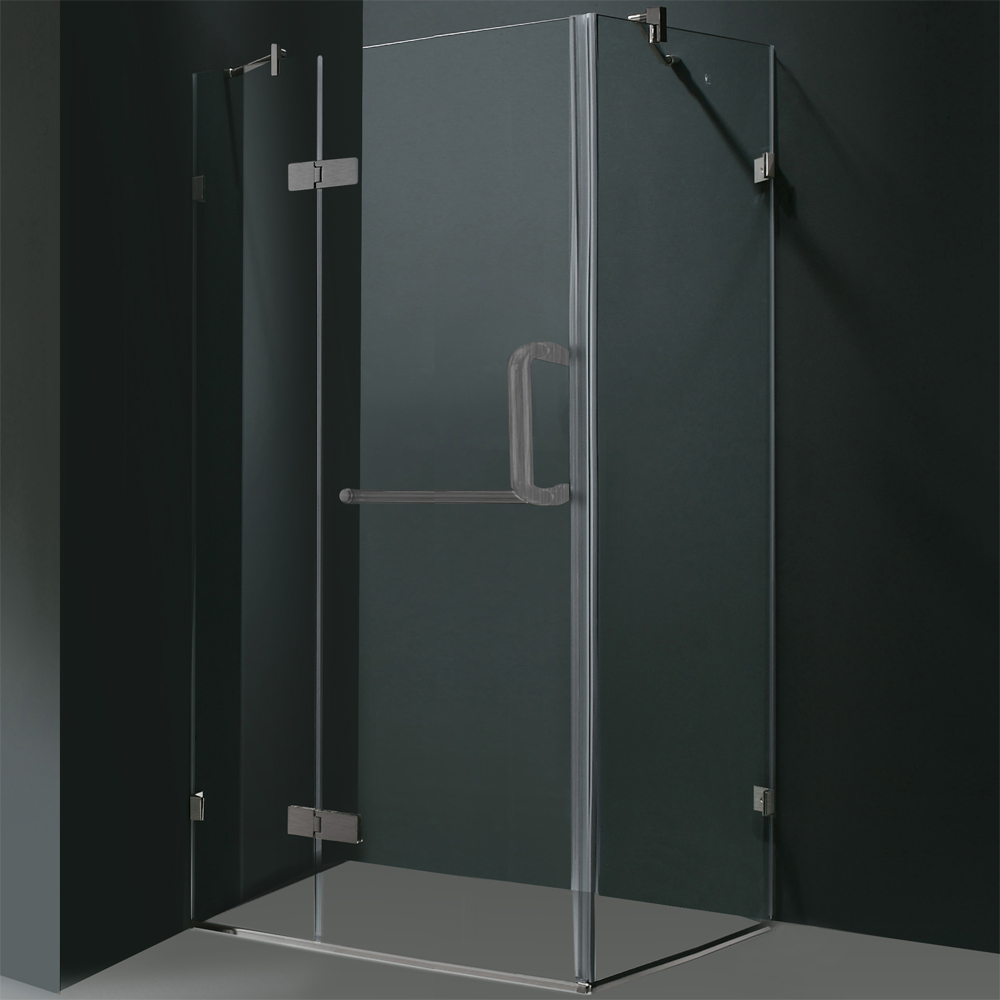 Shown With Clear Glass and Brushed Nickel Finish