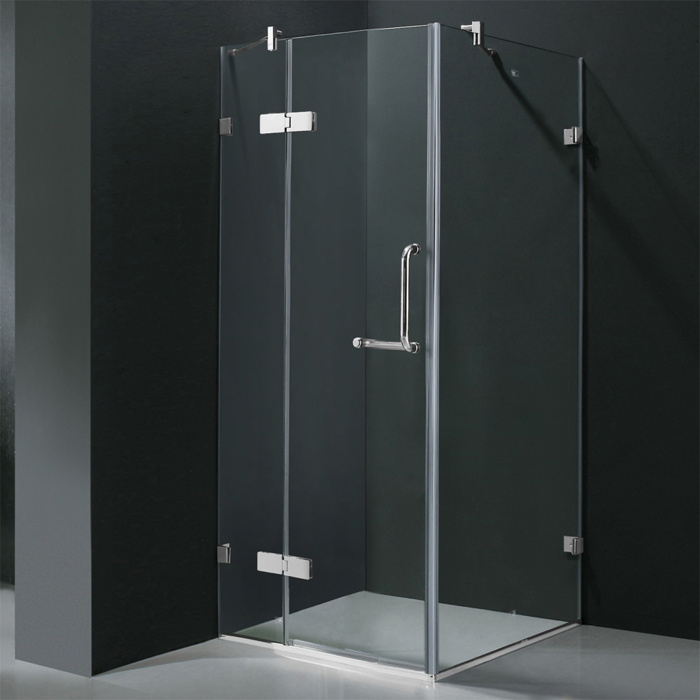 Shown With Clear Glass and Chrome Finish