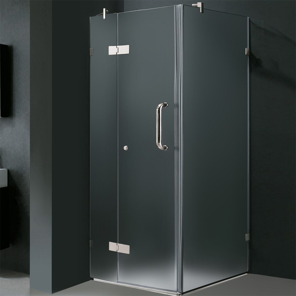 Shown With Frosted Glass and Chrome Finish