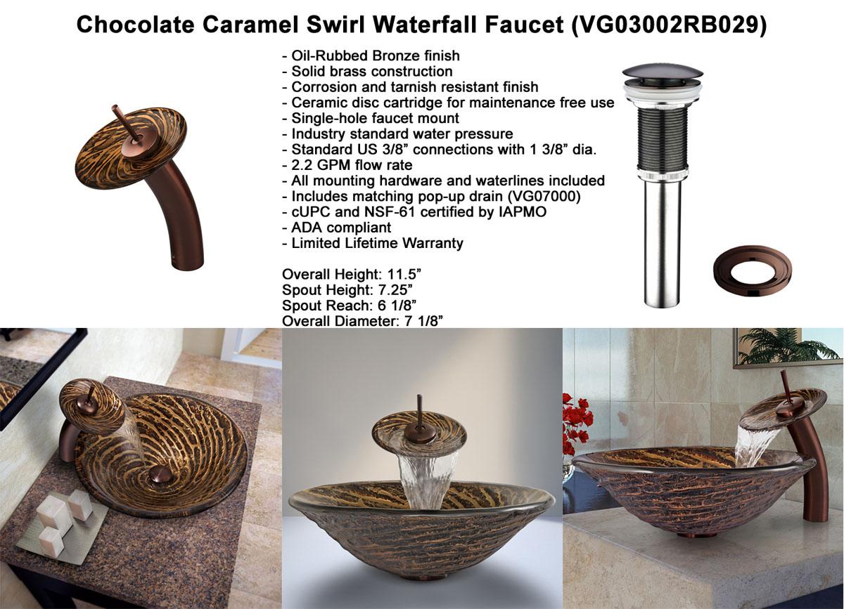 Faucet Option 4: Chrome Vessel Faucet (VGT165)