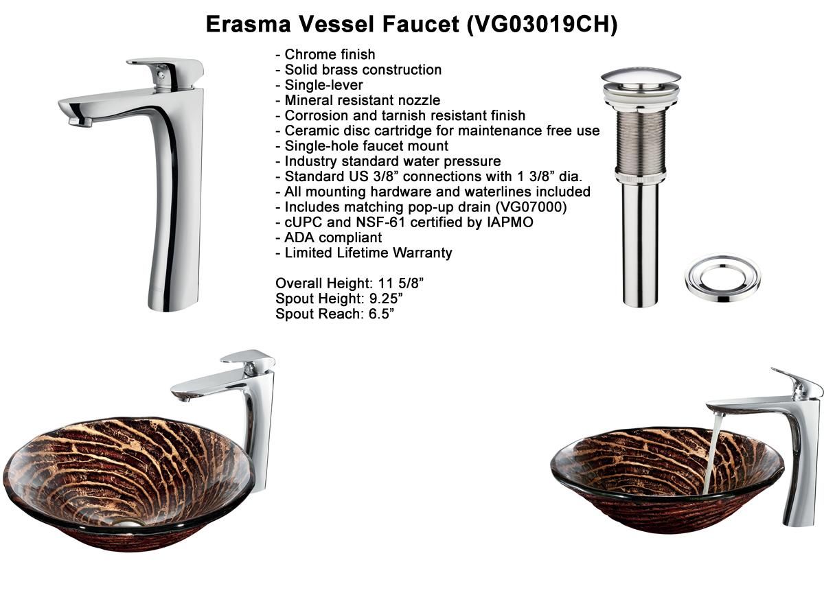 Faucet Option 8: Otis Vessel Faucet (VGT196)