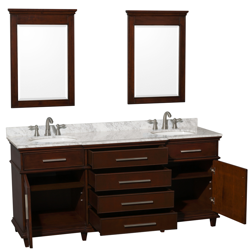 Two Single-Door Cabinets And Four Drawers