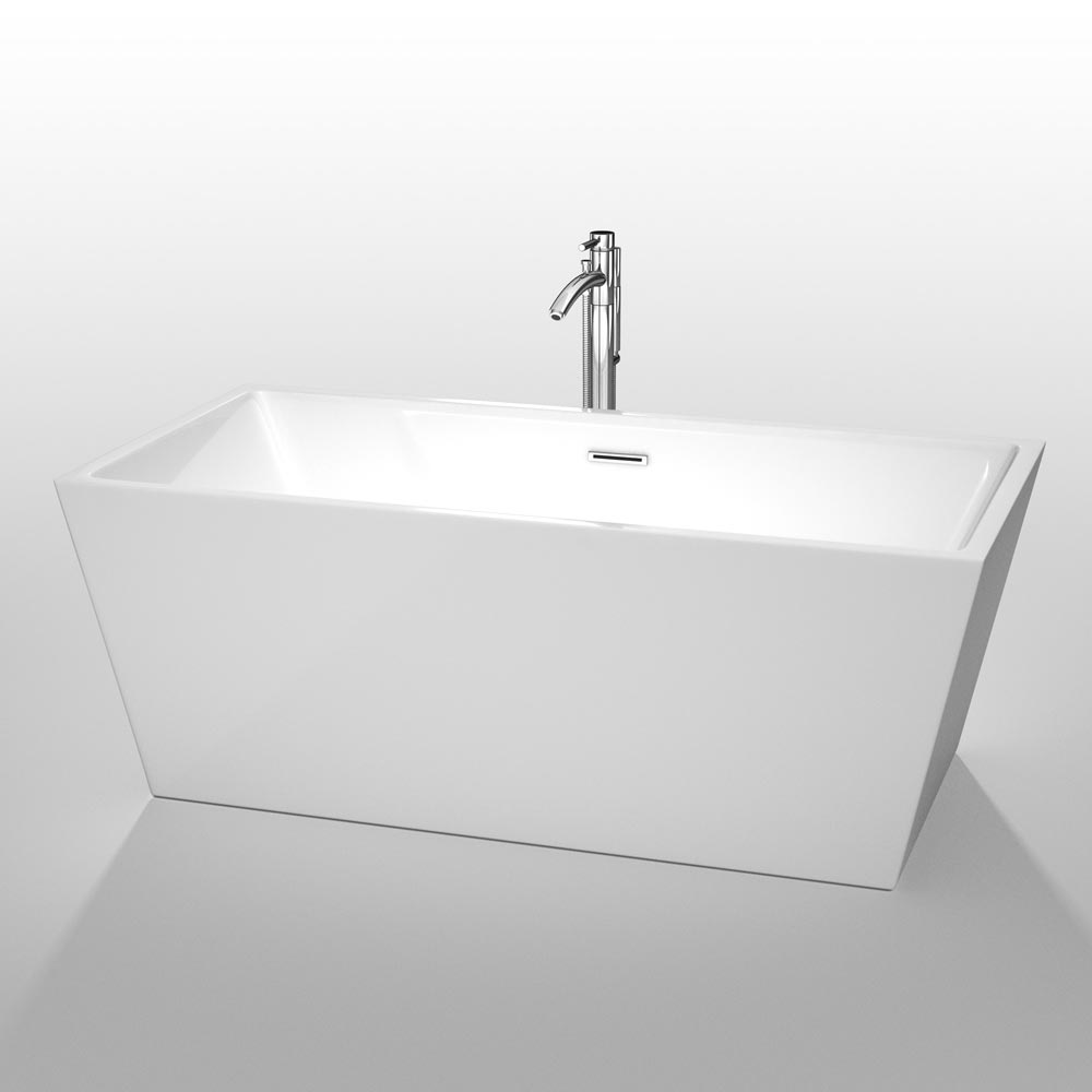 "63"" Sara Soaking Bath Tub"