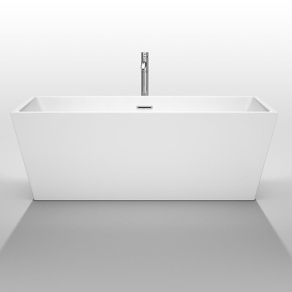 "67"" Sara Soaking Bath Tub"