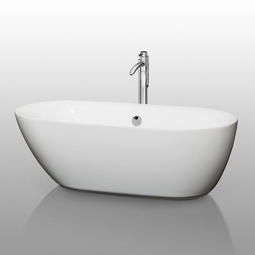 "65"" Melissa Soaking Bath Tub"