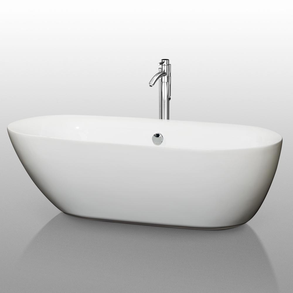 "71"" Melissa Soaking Bath Tub"