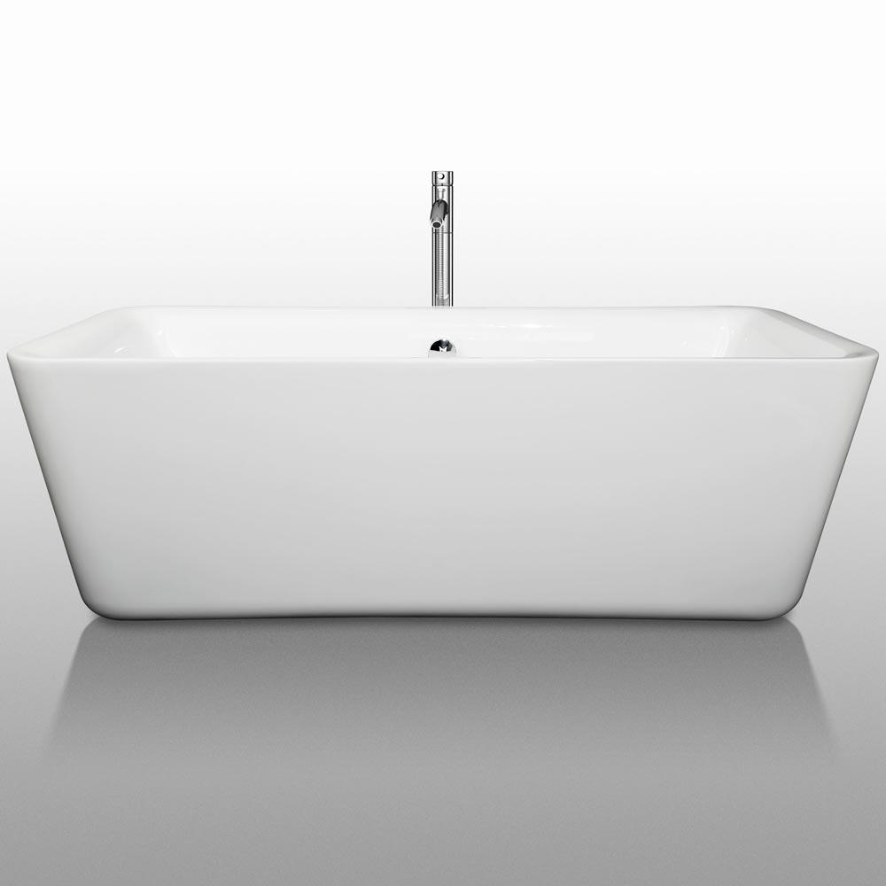 """69"""" Emily Soaking Bath Tub"""